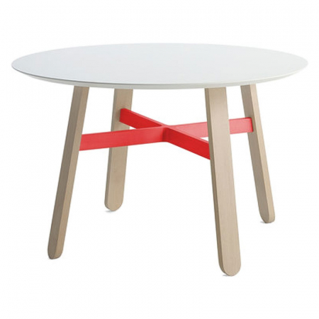 billiani, table, red, white, room, food, roomfood, interior, design, furniture