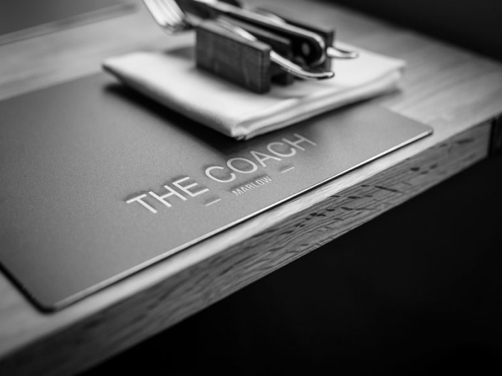 the, coach, marlow, bespoke, roomfood, room, food, design, interior
