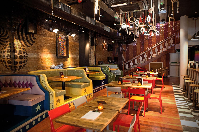 trapeze, bar, shoreditch, london, bespoke, furniture, interior, design