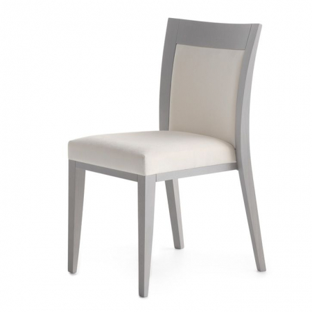 Logica 00912 Chair with Padded Seat, Diemme
