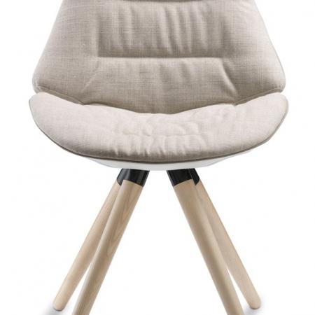 Eon, wood, frame, soft chair